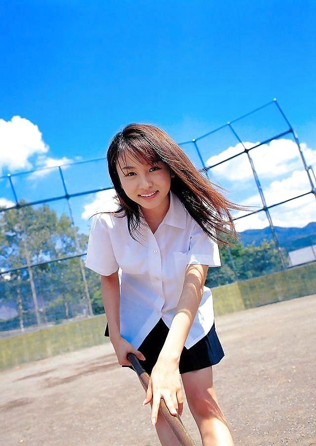 amateur asian uniform